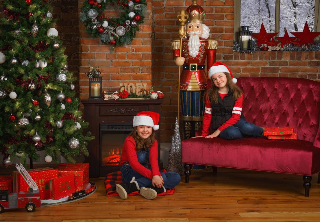 snap foto christmas mini session